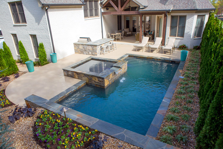 Fiberglass Pools Easy Maintenance With Designer Shapes