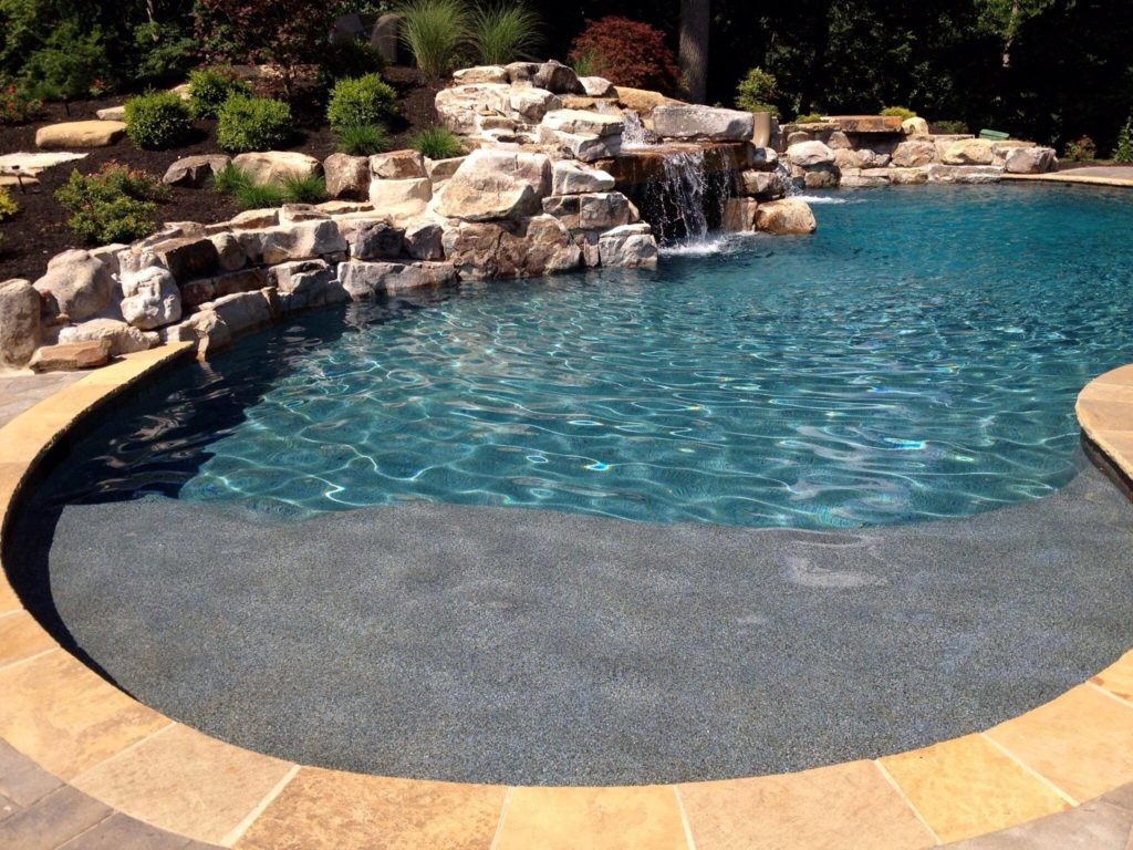 Concrete Pools Also Called Gunite Let You Create Any Deisgn Imaginable