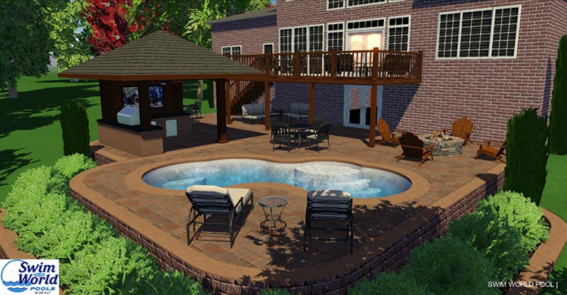 3D pool design pool studio