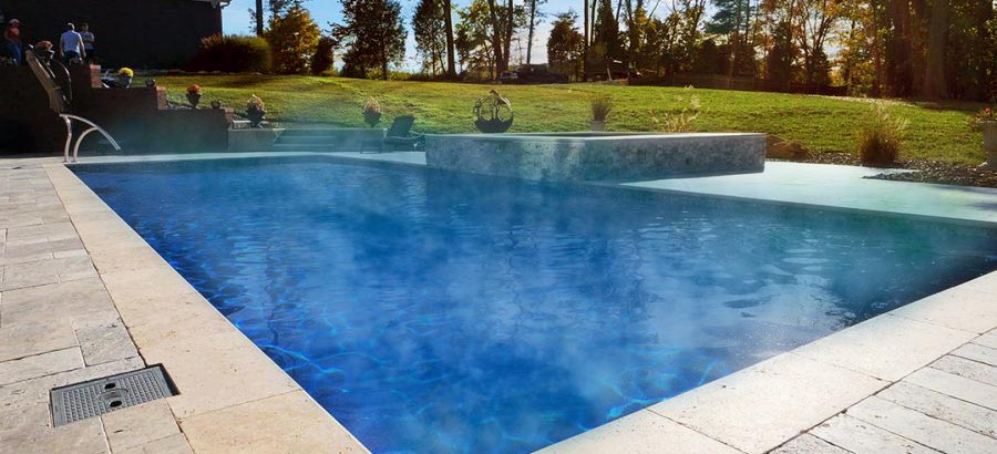 Heated Pool: Get More Use Out of Your Pool and Extend Season. Swim World Pools.
